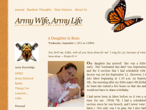 Army Wife, Army Life Web Domain Authority Directory