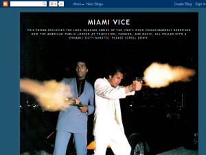 Miami Vice Blog Forum Web Domain Authority Directory
